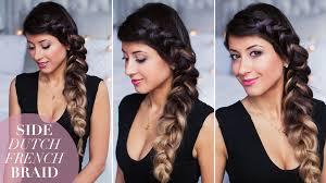 black hair styles for for side frence braids side dutch braid hair tutorial youtube
