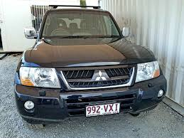 mitsubishi wagon automatic mitsubishi pajero exceed 2005 black used vehicle sales