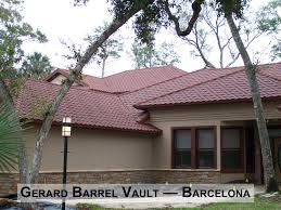 Flat Tile Roof Pictures by Flat Roof Tile Covered With Stone Granules Roman Charcoal
