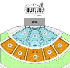Detailed Map Of Colorado by Seating Chart Fiddler U0027s Green Amphitheatre