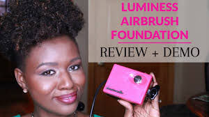 luminess air airbrush foundation review youtube