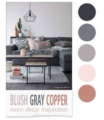 blush gray copper room decor inspiration blush room decor and