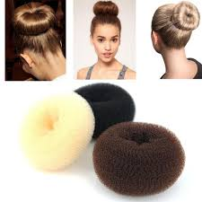 hair bun maker wleec beauty 3 pieces hair donut bun maker large