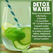 detox water after thanksgiving healthy