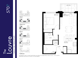 The Louvre Floor Plan by Bristol Condos Milind Jog Real Estate Homes For Sale