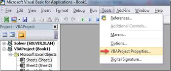 vba macro password in excel 2007 worksheets