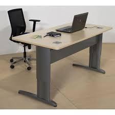 bureau en ligne bureau droit réglable en hauteur ligne plus armoire plus
