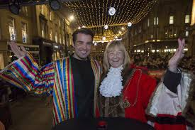 thousands turn out for newcastle u0027s christmas lights switch on