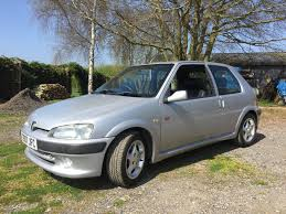 peugeot fire this mint peugeot 106 gti is the rev hungry investment piece you