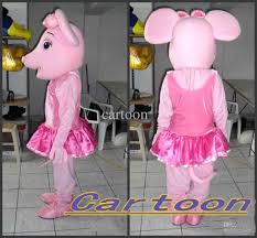 ballerina halloween costume high quality real pictures deluxe pink ballerina mouse mascot