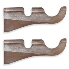 Cambria Wood Curtain Rods Buy Curtain Rods From Bed Bath Beyond
