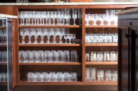 Wine Glass Storage Cabinet by Mullet Cabinet U2014 Pub Style Bar