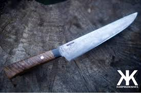 kampman knives hand forged neo tribal brut de forge