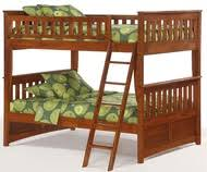 Solid Wood Full Over Full Bunk Beds Spacesaving FullSize Bunk - Timber bunk bed