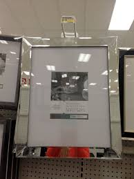 Wall Picture Frames by Mirrored Picture Frame From Target Cluster 6 Or 8 On A Black Wall