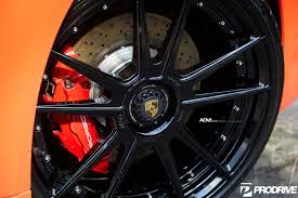 porsche orange orange porsche 911 carrera gts adv5 2 m v2 sl series concave