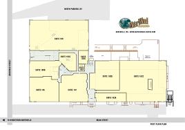 Loading Dock Floor Plan by Office Space For Lease In Northville Mi U2013 Water Wheel Centre