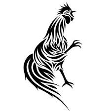 tribal rooster rooster designs and