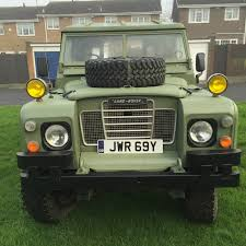 land rover series 3 109 landrover defender 1981 109 series 3 landrover green ex army