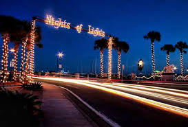 st augustine lights tour nation s oldest city tours available during nights of lights