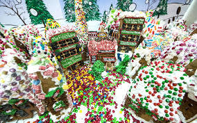 10 gingerbread houses that are actually works of art travel