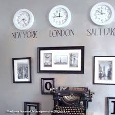 Travel Bedroom Decor by Decorating With Clocks Time Zone Clocks Time Zones And Clock