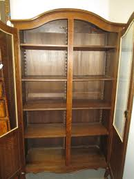 Sauder Bookcase With Glass Doors by Furniture Maple Wood Barrister Bookcases Bookcase With Glass