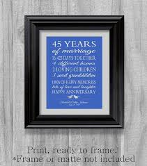 45 wedding anniversary 45 wedding anniversary gifts componentkablo