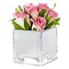 Mirrored Cube Vases 63 Best Wedding Flowers Images On Pinterest Flower Arrangements
