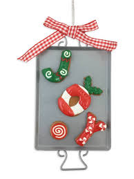 clay dough cookie ornament fleurty
