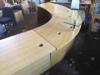 Preloved Reception Desk Reception Desk Office Desks U0026 Tables For Sale Gumtree