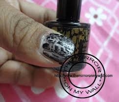 oriflame very me nail graffiti black review and notd