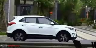 Hyundai Ix25 Interior Hyundai Ix25 Compact Suv Caught Testing In India Edit Named The