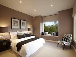 bedroom design idea floorboards window seat using black colours