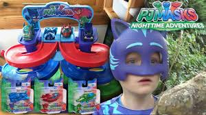 pj masks nighttime adventures spiral die cast toys disney