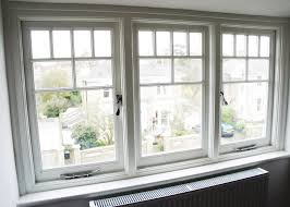 characteristic french window casement