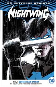 review nightwing vol 1 better than batman rebirth trade