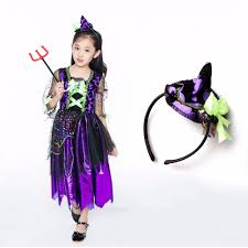 popular kids costumes for girls black witch buy cheap kids