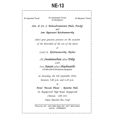 remarkable wedding invitation card matter in language 14 in