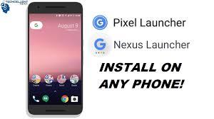 nexus launcher apk how to install pixel nexus launcher without root techcellent news