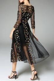 v neck waisted rose applique dress shops ux ui designer and for