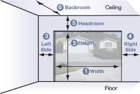 Overhead Door Sizes How To Measure For A Garage Door Best Overhead Door