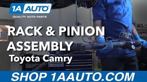 lexus rx330 steering rack how to replace install rack and pinion assembly 92 01 toyota camry