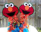 Elmo Centerpieces Ideas by Elmo Balloon Centerpiece Party Ideas Pinterest Balloon