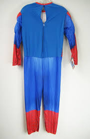the amazing spider man 2 muscle chest jumpsuit halloween costume
