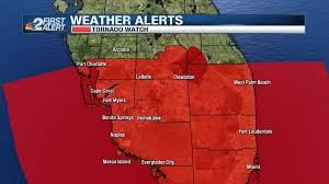Naples Florida Map All Of Swfl Under Tornado Watch Nbc 2 Com Wbbh News For Fort