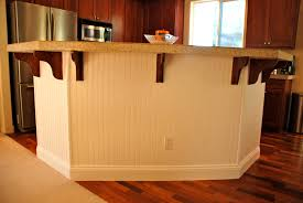 wainscoting kitchen island cheap diy kitchen island makeover with