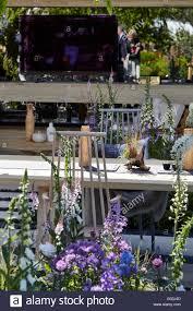 chelsea flower show 2016 the lg smart garden hay joung hwang stock