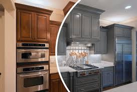 is cabinet refinishing worth it kitchen cabinet refinishing is cabinet refinishing right