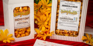 popcorn favor bags weddings events cbell s factory